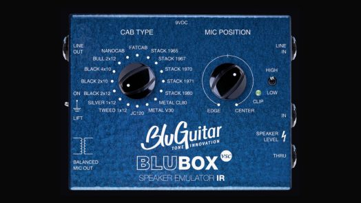BluGuitar BluBOX Virtual Speaker Collection