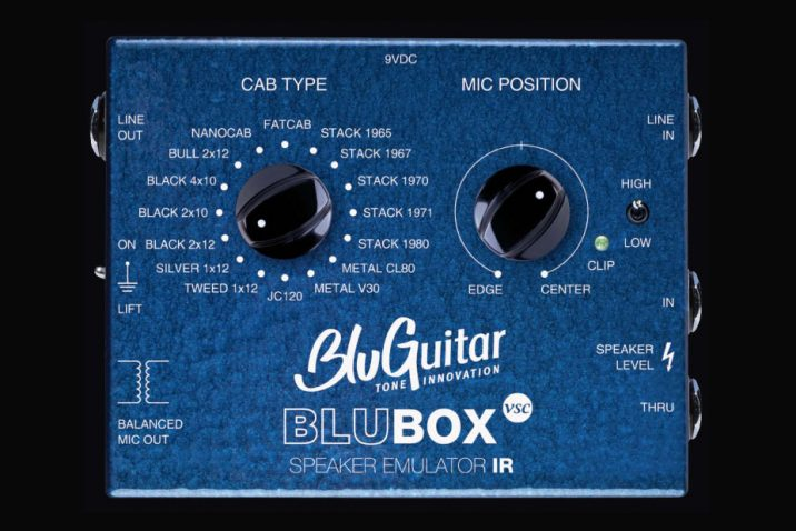 BluGuitar BluBOX Virtual Speaker Collection