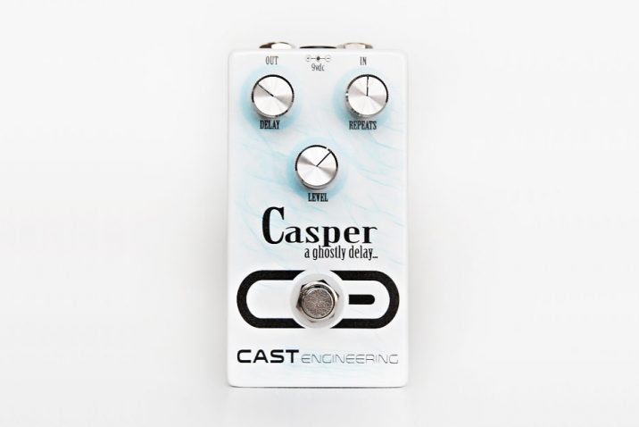 CAST Engineering releases the Casper delay pedal