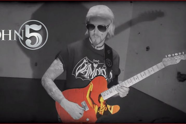 New John 5 Video for Now Fear This