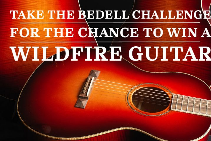 Win a Bedell Wildfire guitar