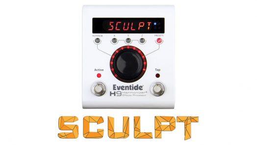 Eventide Sculpt Multi-Band Distortion for H9 Harmonizer
