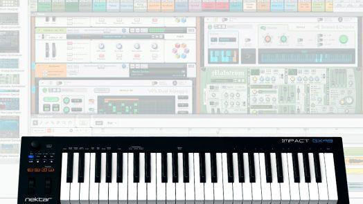 Nektar Controller Keyboards updates support Reason 9
