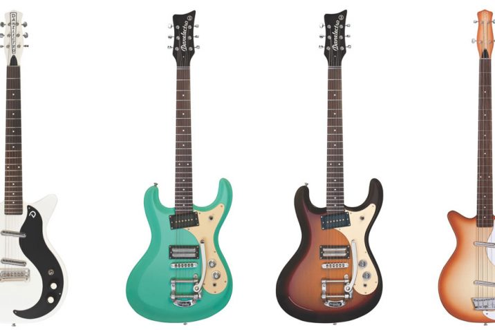 New Danelectro models hit the stores