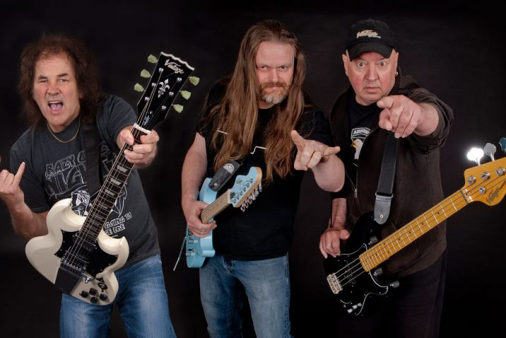 Pic from left to right Graham Oliver, Gav Coulson and Steve 'Dobby' Dawson.