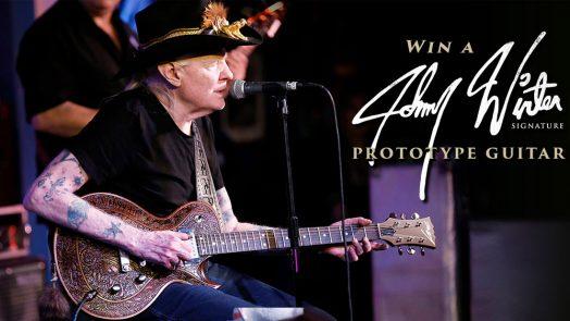 Dean Zelinsky is Giving Away the Johnny Winter Signature Prototype Guitar