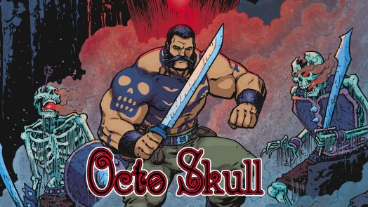 EarthQuaker Devices Octo Skull Comic Book