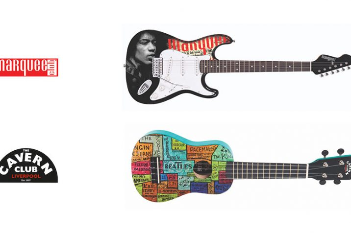 JHS introduce Marquee Club and The Cavern Club instruments