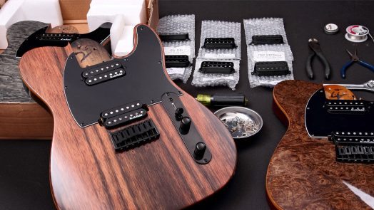 Michael Kelly 7 and 8 String Guitars