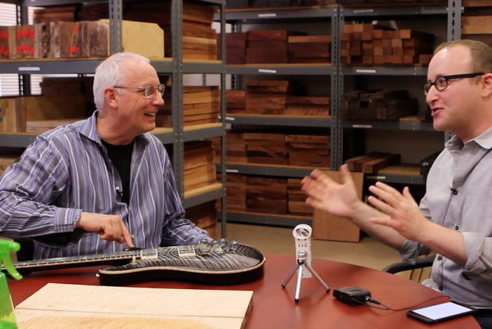 Brett Berhoff Making Impact with Paul Reed Smith Interview