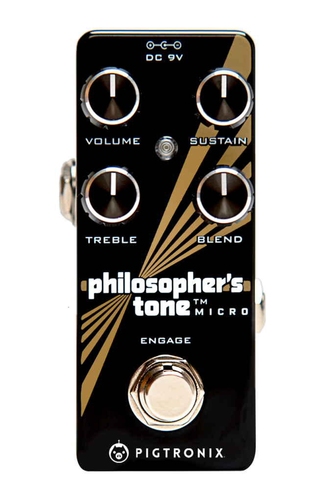 Pigtronix Philosopher's Tone Micro now shipping in UK