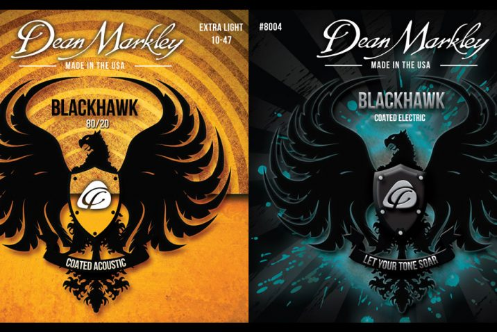 Dean Markley Blackhawk Coated Guitar Strings Take Flight