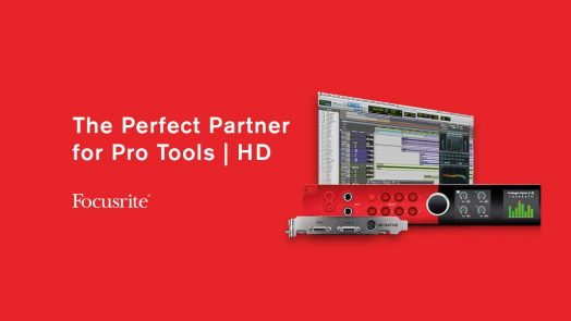 Focusrite Red interfaces Pro Tools HD