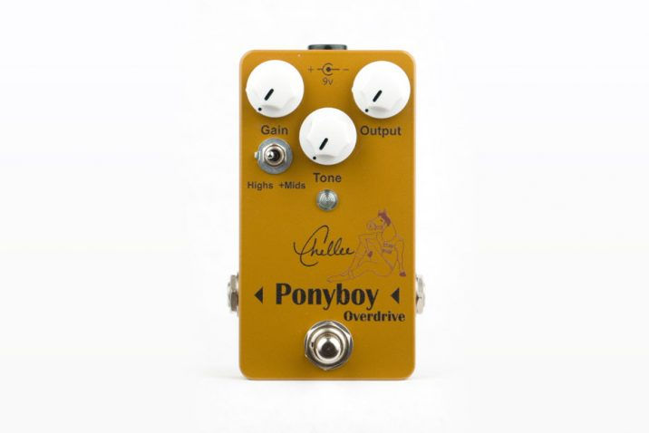 Chellee Guitars & Effects Unveils Ponyboy Overdrive V2