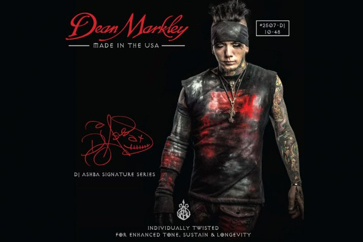 Dj Ashba of Sixx:A.M. Teams Up with Dean Markley