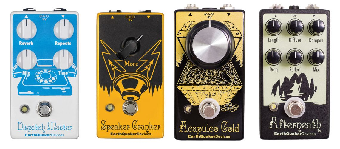 EarthQuaker Devices to Release V2 Updates of Dispatch Master, Speaker Cranker, Acapulco Gold, and Afterneath