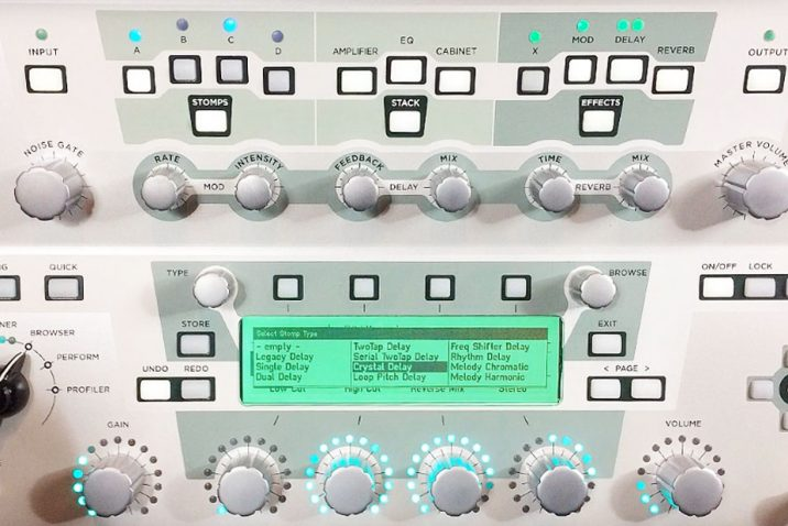 Kemper Profiler Delays