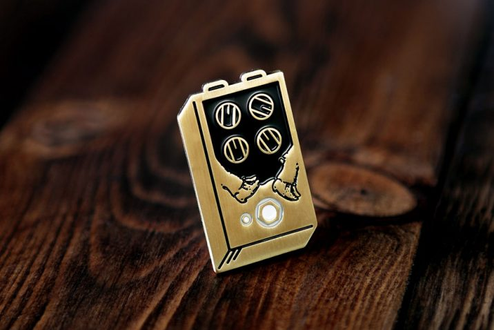EarthQuaker Devices Enamel Pins