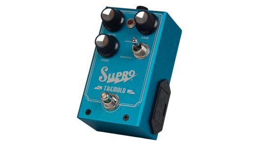 Supro releases Analog Harmonic Tremolo pedal