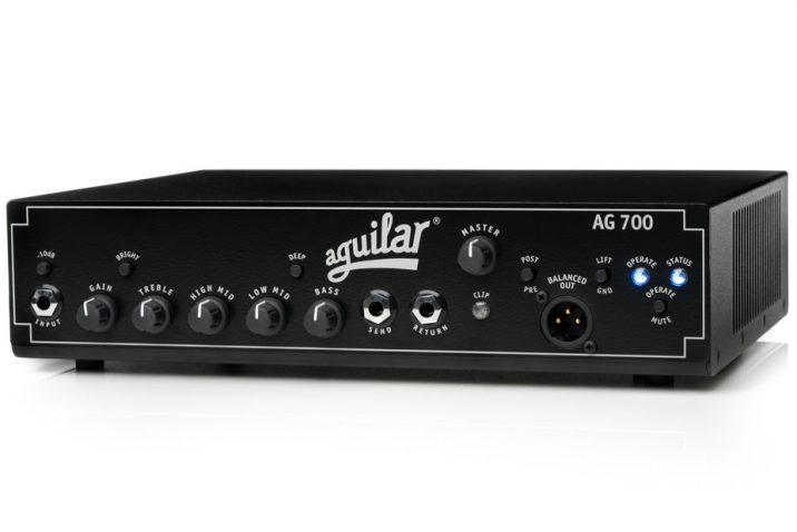 Aguilar Amplification announces the AG 700 amplifier