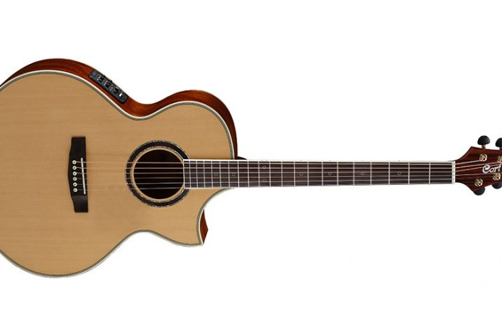 Cort Guitars Introduces NDX Baritone Acoustic-Electric Guitar