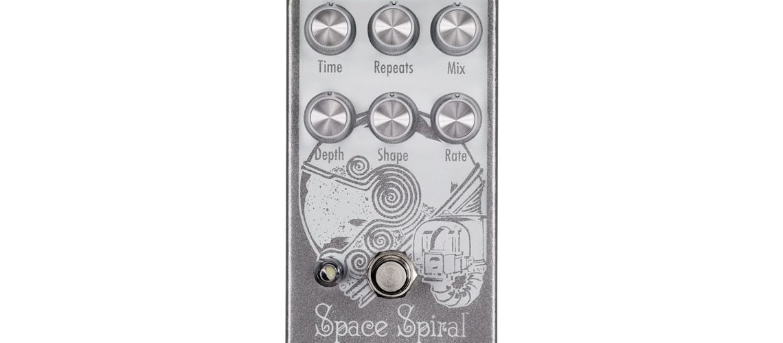 EarthQuaker Devices to Release Space Spiral Modulated Delay Device at Winter NAMM 2017