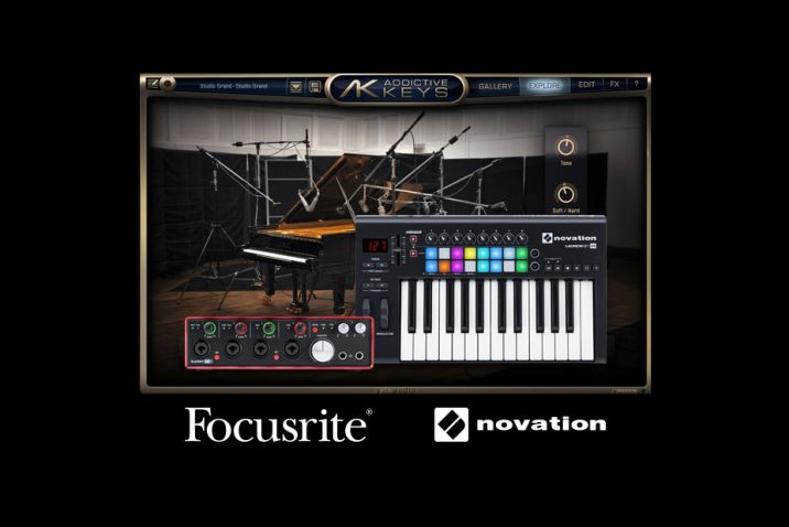 The Focusrite Group announces Addictive Keys bundles
