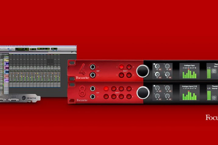 Focusrite simplifies Red and Pro Tools | HD combinations