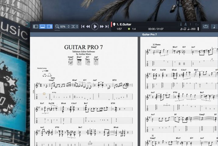 GUITAR PRO 7 Beta Version at NAMM 2017