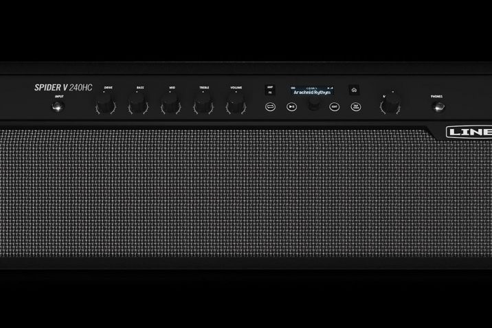 Line 6 Introduces the New Spider V 240HC Head & Combo Amp