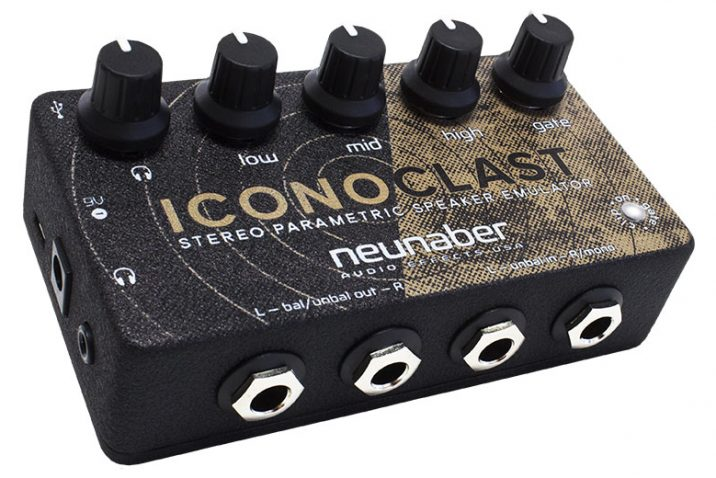 Neunaber Announces Iconoclast Guitar Speaker Emulator