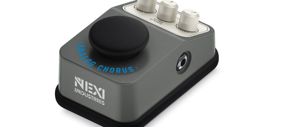 nexi industries adds must have analog chorus to guitar effects pedal collection. Black Bedroom Furniture Sets. Home Design Ideas