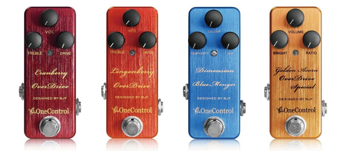 Cranberry Overdrive, Lingonberry Overdrive, Dimension Blue Monger & Golden Acorn Overdrive