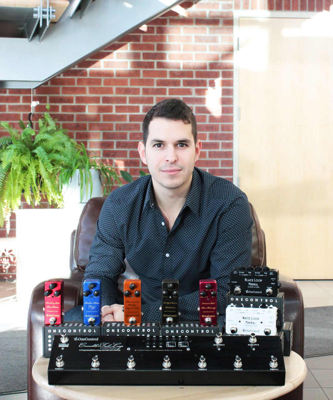 One Control Products will be managed by Franco Caruso, Assistant Brand Manager for the Musical Instruments Business Unit at SFM.