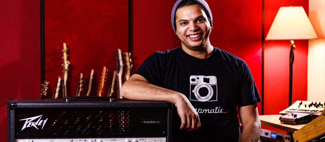 Peavey® Collaborates with Periphery's Misha Mansoor on New invective™.120 Guitar Amplifier
