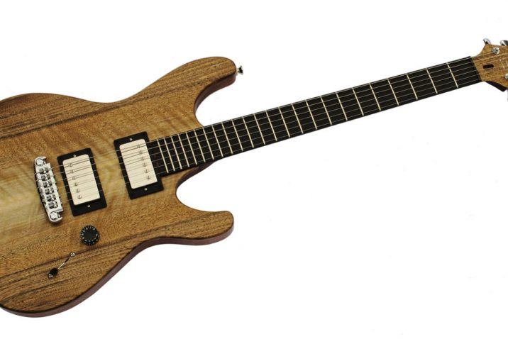 Triad Custom Guitars Introduces The Griffon Electric Guitar Model