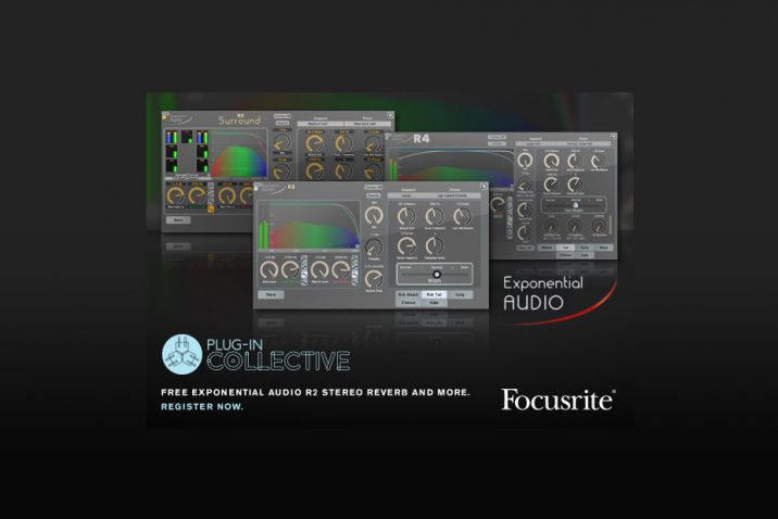 Focusrite gives customers free Exponential Audio plug-in