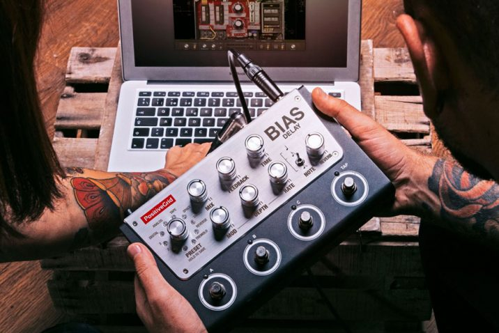Positive Grid Announces BIAS Delay Pedal – The World's First Cross-Platform Hardware Delay Pedal