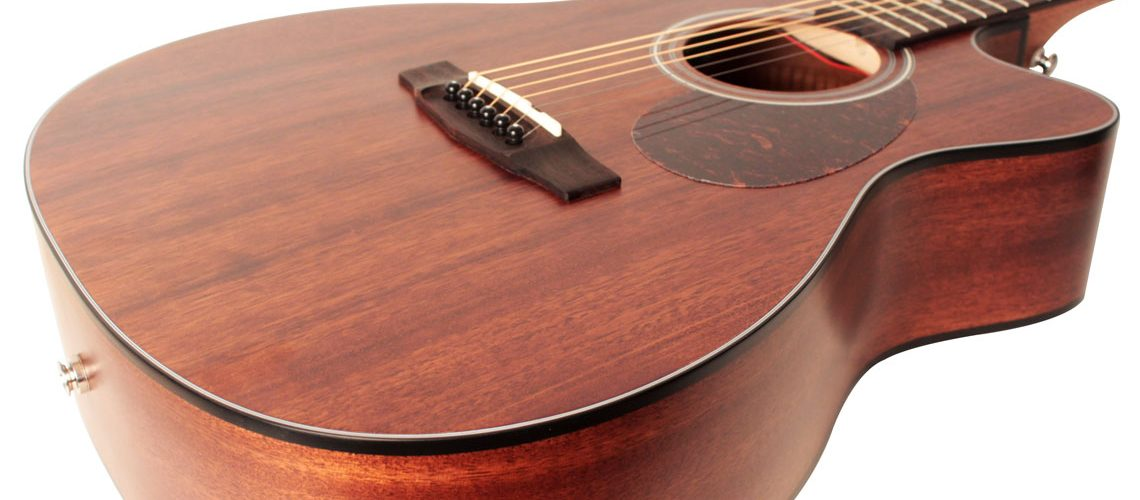 Cort AS-OC4 Mahogany Acoustic-Electric Guitars