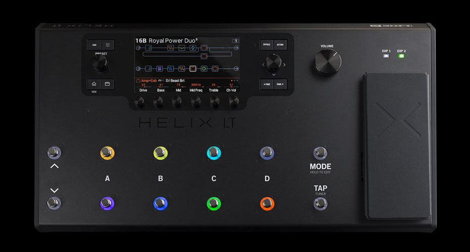 Line 6 Announces Helix LT