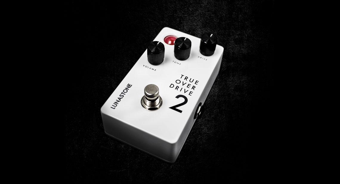 lunastone trueoverdrive 2 lunastone expands the compact pedal series. Black Bedroom Furniture Sets. Home Design Ideas