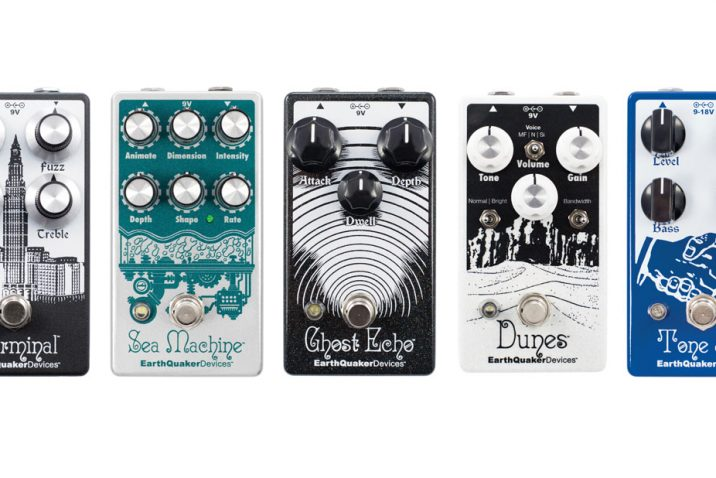 EarthQuaker Devices to Release Updates to Dunes, Ghost Echo, Sea Machine, Terminal, and Tone Job