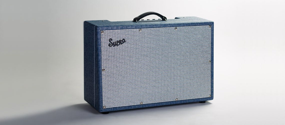Supro USA launches the Neptune Reverb 25W 2x12 Combo