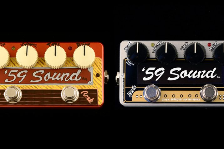 ZVEX Effects Release the '59 Sound and Limited Edition Mailing List.