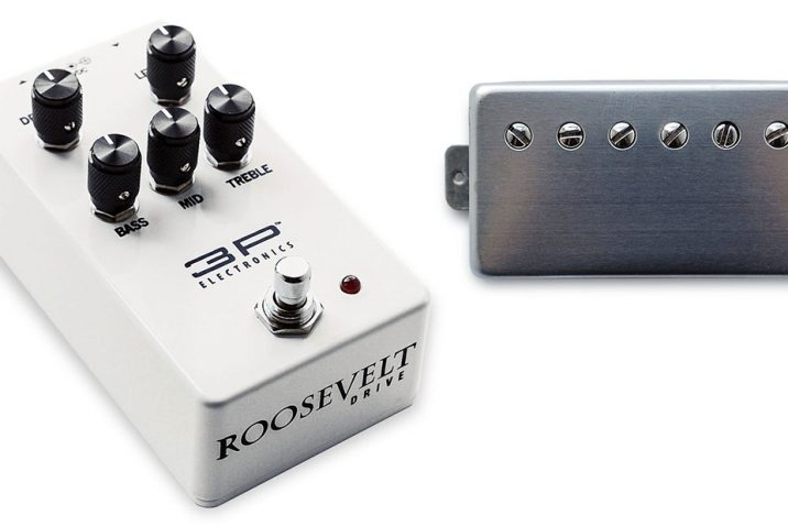 3RD POWER Debuts Mag-FRAG Pickups and Roosevelt Drive Pedal at Summer Namm