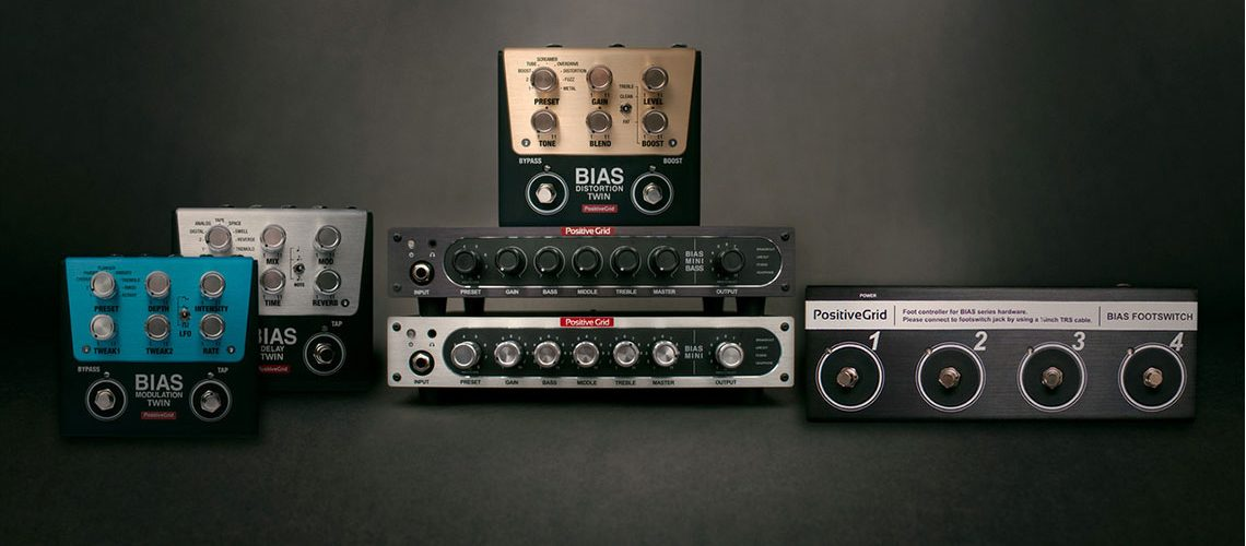 Positive Grid Announces BIAS Mini Amplifier, Twin Pedals & Footswitch At Summer NAMM