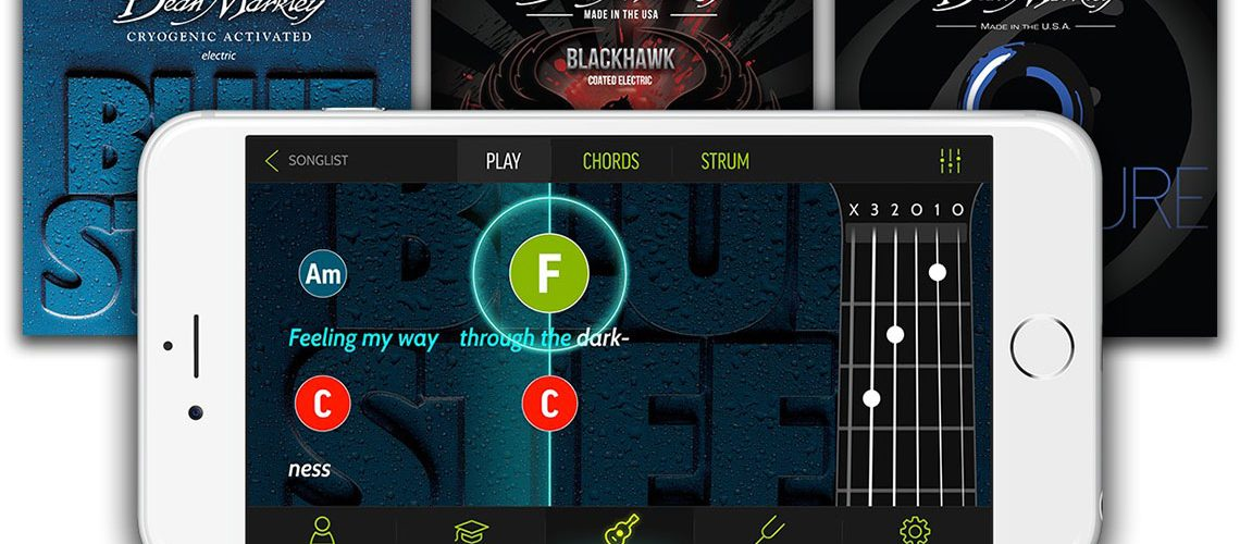 Dean Markley Teams Up With Fourchords Guitar Instruction App To Help