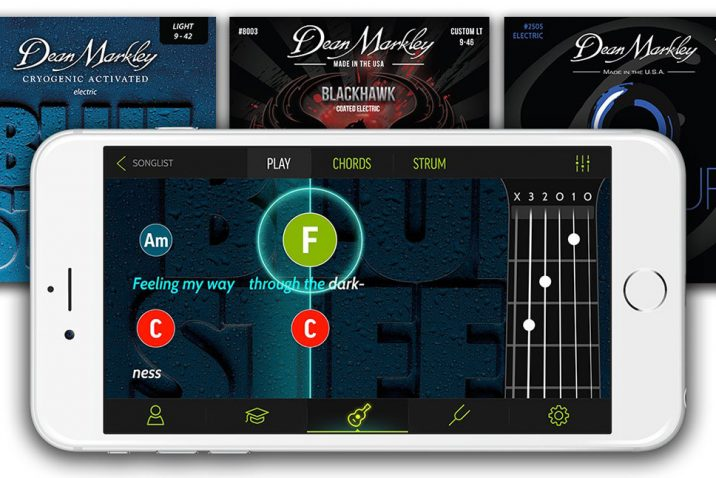 Dean Markley Teams Up with FourChords Guitar Instruction App to Help Beginners Succeed