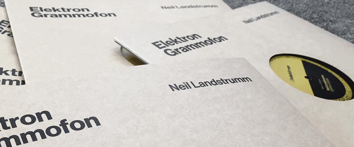 """Elektron Grammofon 12"""" vinyl by Neil Landstrumm"""