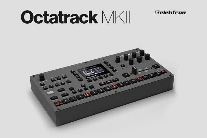 Elektron Octatrack MKII is now shipping